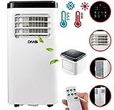 DMS® - Klimaanlage Mobiles Klimagerät 4in1 kühlen, Luftentfeuchter...